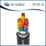 XLPE aisló el cable de transmisión de cobre plano forrado PVC de Condutor