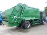 HOWO 4X2 10cbm Vuilnisauto van de Pers van het Afval