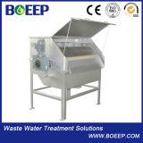 Impianto di per il trattamento dell'acqua del filtrante del tamburo rotante