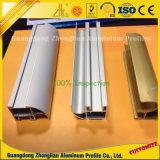Coutume en aluminium d'usine toutes sortes de profils en aluminium industriels anodisés