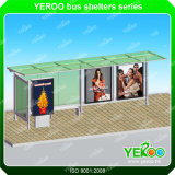 Customized Modern Design Publicidade Bus Stop Shelter