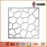 El panel compuesto de aluminio de la pantalla de la capa del PE para la decoración de interior