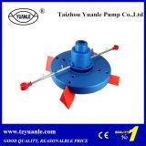 Aerador de roda de remo para bomba flutuante de camarão, lagoa e peixe