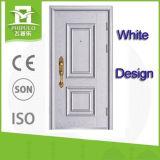 Die Türkei-Schlafzimmer-Sicherheits-Stahltür-Weiß