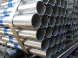 Tubo de acero inconsútil galvanizado sumergido caliente para el abastecimiento de agua