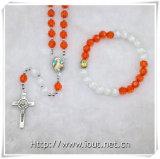Multicoloursのビードの祈りの数珠セット、ビードの数珠(IOcrs008)