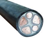 Collegare di rame del cavo elettrico del fodero del PVC dell'isolamento del conduttore XLPE