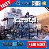 Plantas da máquina da fábrica de gelo do floco de Icesta para refrigerar concreto