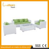 Sofa réglé d'osier de rotin de vente de jardin de meubles extérieurs d'intérieur chauds de patio