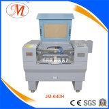 Миниая машина лазера Cutting&Engraving с изготовленный на заказ схватами (JM-640H)