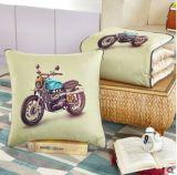 Manta 2 del sofá en 1 manta de lino de la almohadilla de tiro del amortiguador del algodón de múltiples funciones