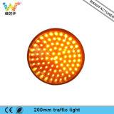 mèche jaune-clair de lampe de feux de signalisation de 200 millimètres
