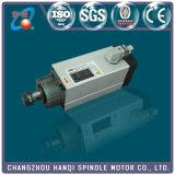 Motore dell'asse di rotazione raffreddato aria 2.2kw di Hqd per la macchina di CNC (GDF46-18Z/2.2)