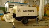 Pompe concrète Remorque-Montée diesel de remorque de pompe de mélangeur concret