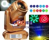 Luz principal móvil del zoom 330W 350W de la colada del punto de la viga con 2 CTO y 1CTB
