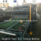 Painel de sanduíche de lãs de rocha que faz a máquina alinhar (AF-R980)