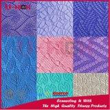 Couvre-tapis respectueux de l'environnement texturisé de Pilates de couvre-tapis de yoga de bande de deux couleurs