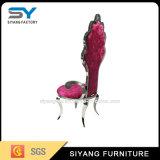優雅のホテルの家具赤いPUの革余暇の椅子
