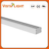 Opgezet/Hangende oppervlakte/Opgezette Muur 5 Jaar Garantie 20With30With40W SMD3030 van de Compatibel aan LEIDENE 0-10V Dali Lineaire Lichte Verlichting met UL Ce SAA RoHS