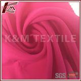 Tela de seda lisa Pele-Amigável para o traje