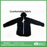 Подгонянная черная куртка Softshell цвета