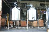 Sanitarios en acero inoxidable eléctrico Calefacción Farmacéutica Tanque de Mezclado
