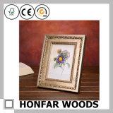 Frame de retrato de madeira decorativo gama alta para a decoração do interior do hotel