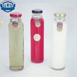 310mlフルーツジュースの飲料のガラスビン。 ガラスビンカバー