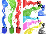 ペンキインクのためのC9炭化水素の樹脂