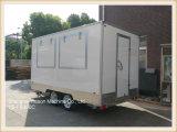 vrachtwagen Van uitstekende kwaliteit van het Voedsel van de Aanhangwagen van het Voedsel van het Comité van 3.9m de Glas re-Afgedwongen Mobiele voor Verkoop