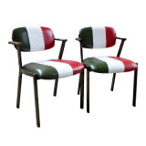 標準的な金属のレストランのテラスの喫茶店の椅子(JY-R39)