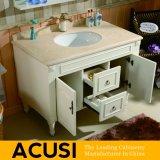 Meubles simples américains de vente chauds de salle de bains de Module de salle de bains de vanité de salle de bains en bois solide de type d'arrivée neuve (ACS1-W40)