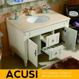 Amerikanische einfache Art-festes Holz-Badezimmer-Großhandelseitelkeit (ACS1-W40)