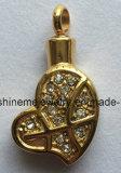 方法金によってめっきされるはめ込まれたCZの宝石類の中心のペンダント