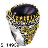 Juwelen 925 van de manier de Zilveren Ring van de Mens met de Klauw van het Koper