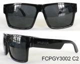 Óculos de sol retangulares de venda superiores do plástico da injeção do Cp dos frames
