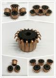 電気DCモーターのためのOEMの習慣12のセグメントによってブラシをかけられる銀製の銅の整流子