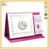 Impresión del calendario de pared de la alta calidad
