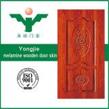 piel de la puerta de la melamina de 3.0m m HDF/MDF con diverso diseño