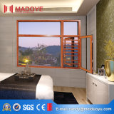 Окно оптового строительного материала Китая новое стеклянное с конструкцией решетки