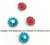 2017 новая и верхняя установка когтя цветка качества 14mm кристаллический шьет на полосе Strass (сини неба ab TP-14mm)