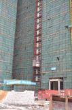 De Lift van het Hijstoestel van de Machines van de Bouw van CH-535 en 2 Kooien