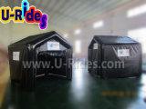 Tenda gonfiabile stretta dell'aria nera di colore con lo schermo di film