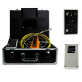 Sistema de la cámara del cable del empujador para la cámara del examen del dren