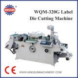 Máquina que corta con tintas de la escritura de la etiqueta del papel de Wqm-320g
