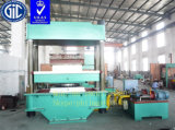 Presse hydraulique/presse de vulcanisation de plaque (bâti-type)
