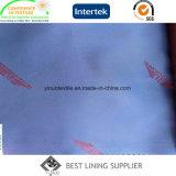 Unterschiedliches kundenspezifisches Firmenzeichen-Futter-Polyester oder dickflüssiges Jacquardwebstuhl-Polyfutter