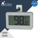 C/F에 있는 온도를 가진 자석 LCD 냉장고 냉장고 디지털 온도계