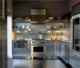 Rayita del grado 304/hoja de acero inoxidable aplicada con brocha del final para la cabina de cocina, el equipo de la cocina y los vectores