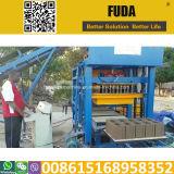Tijolo Qt4-25 automático que faz a fábrica em Rwanda